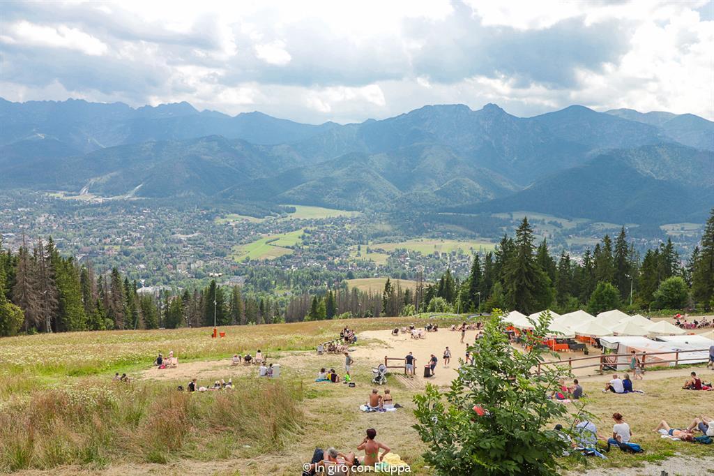 Cosa fare a Zakopane d'estate: salire sul monte Gubałówka