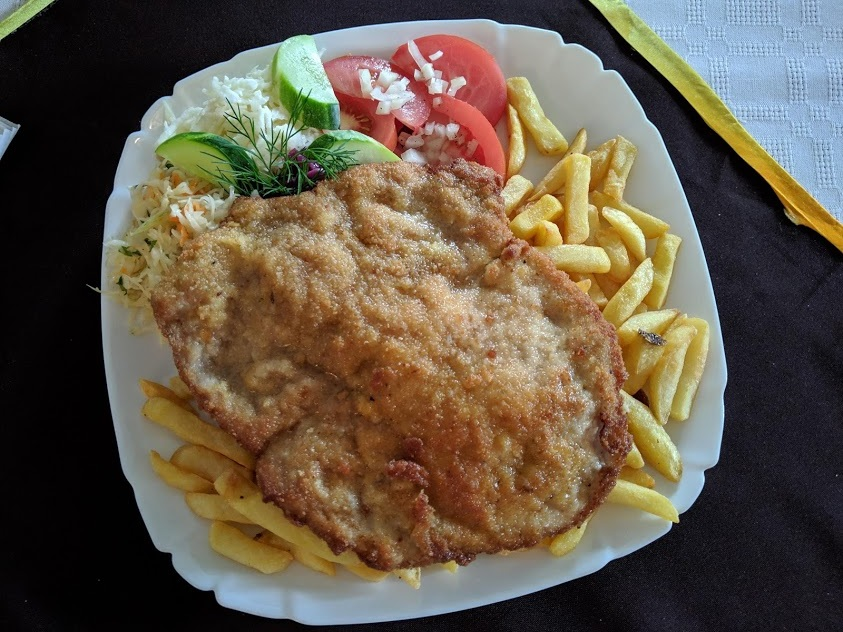 Cosa mangiare a Zakopane: cotoletta di maiale