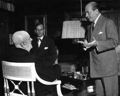 Eugene Ormandy Visiting Sibelius Week1951