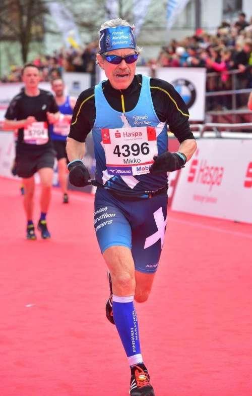 Loppukiri Hampurin Maratonilla 17 4 16