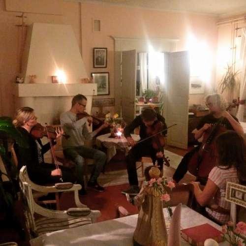 Pasimusic 2016 Neo Quartet Jammailee Vaarnin Pappilassa