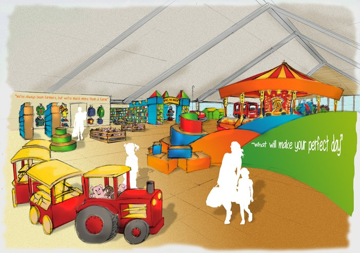 folly farm new gift shop design