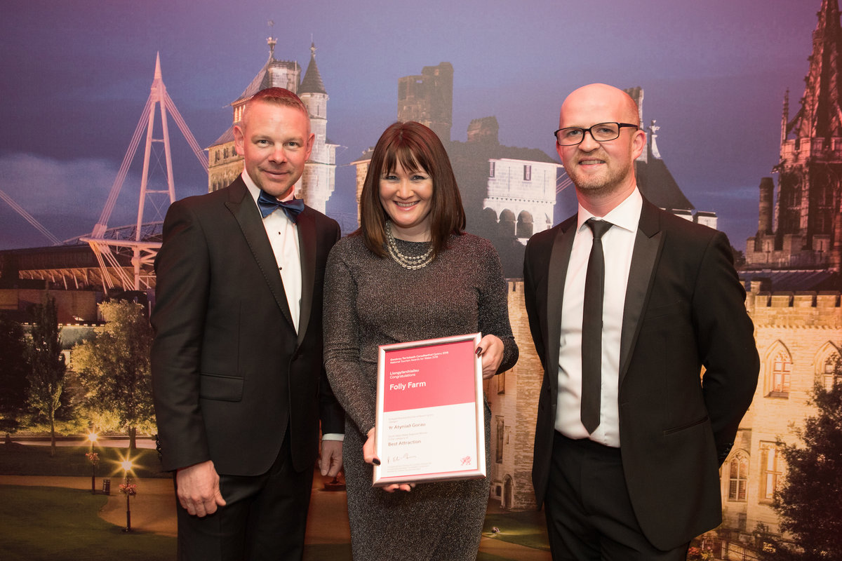 Best attraction in South West Wales award