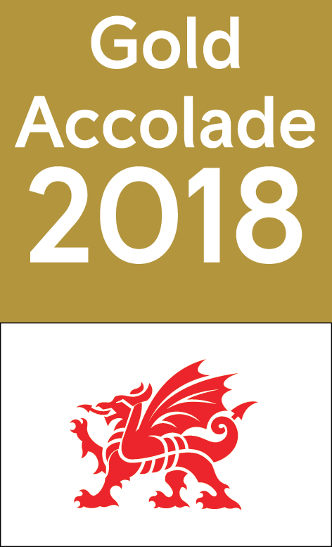 Visit Wales Gold Accolade 2018