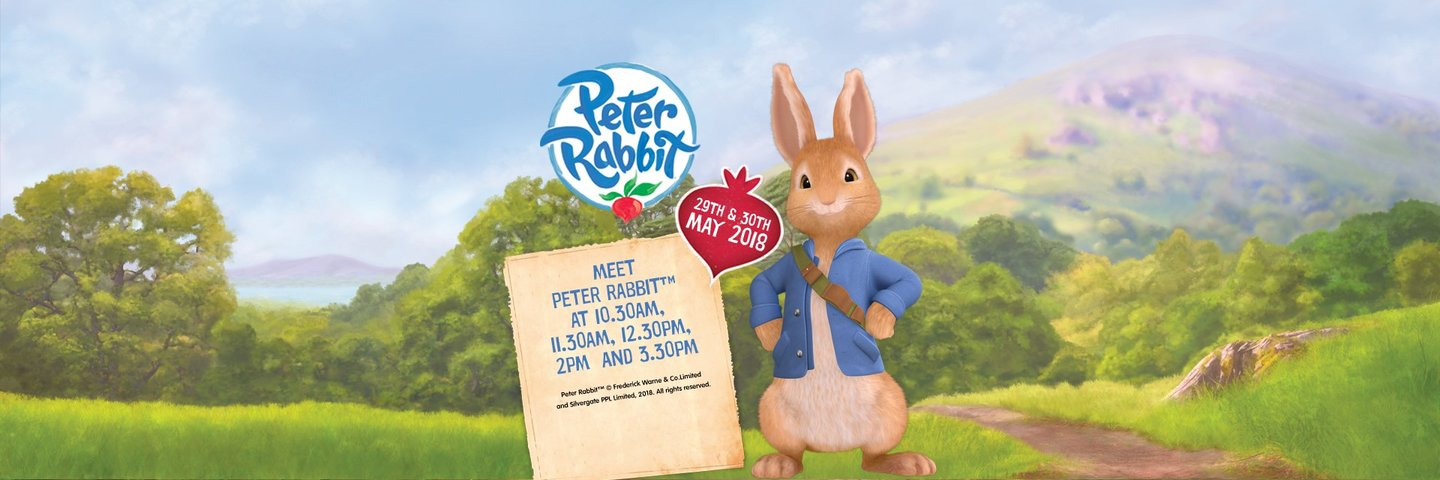 Peter Rabbit at Folly Farm