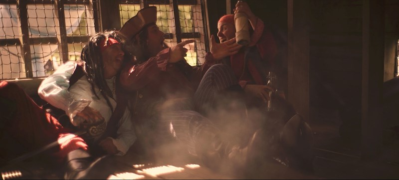 pirates drinking rum black bart film