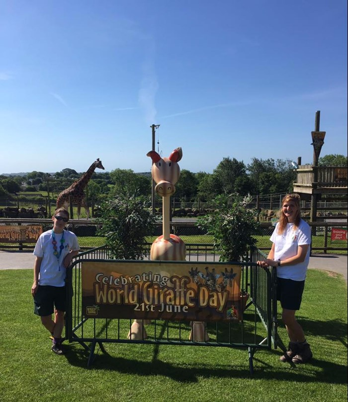 World giraffe day 2017