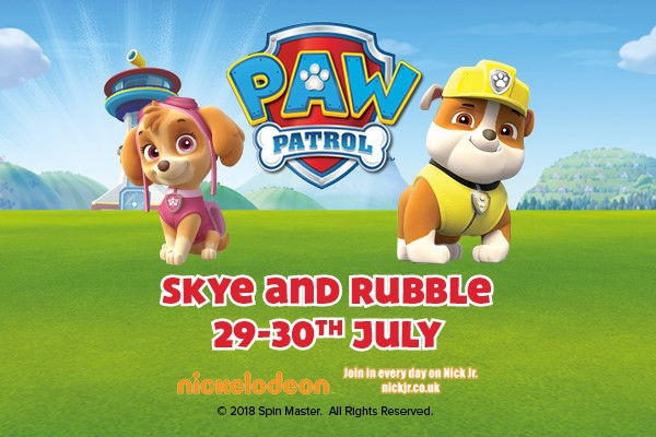 PAW Patrol's Skye and Rubble