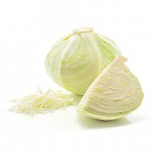 white cabbage Kalorien-Nährwerte