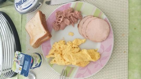 scrambled eggs Kalorien-Nährwerte