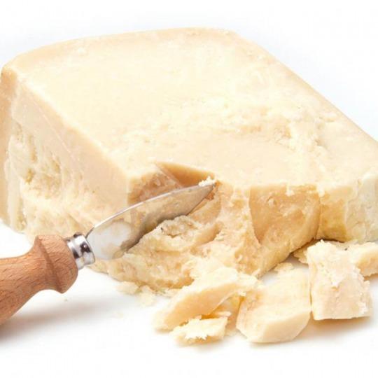 Parmesan (geraspelt, durchschnittlich) Kalorien-Nährwerte