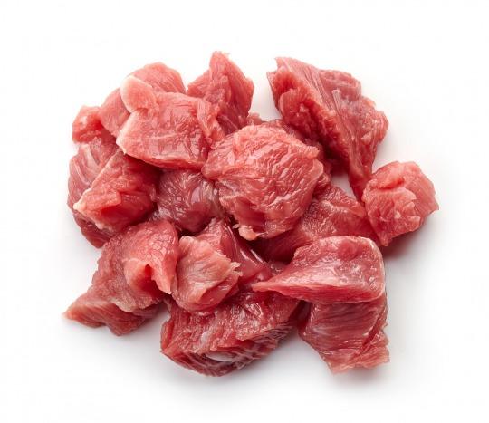 Schweinegulasch (fettarm/ durchschnittlich) Kalorien-Nährwerte