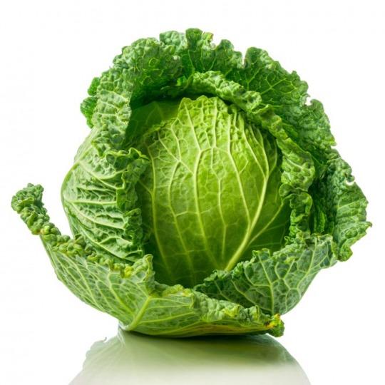 savoy cabbage Kalorien-Nährwerte