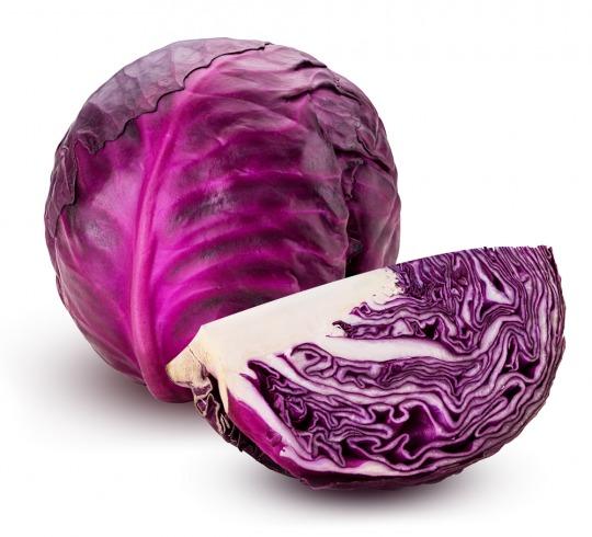 red cabbage Kalorien-Nährwerte