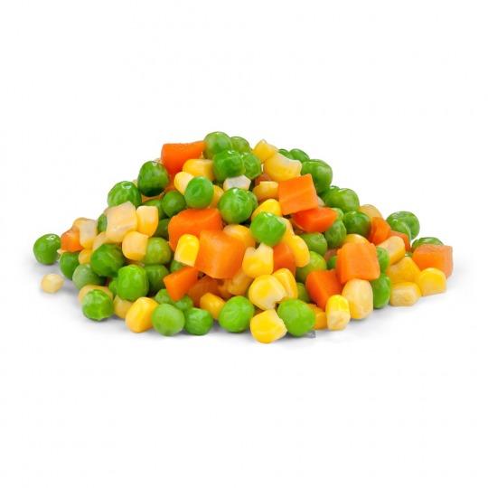 mixed vegetables Kalorien-Nährwerte