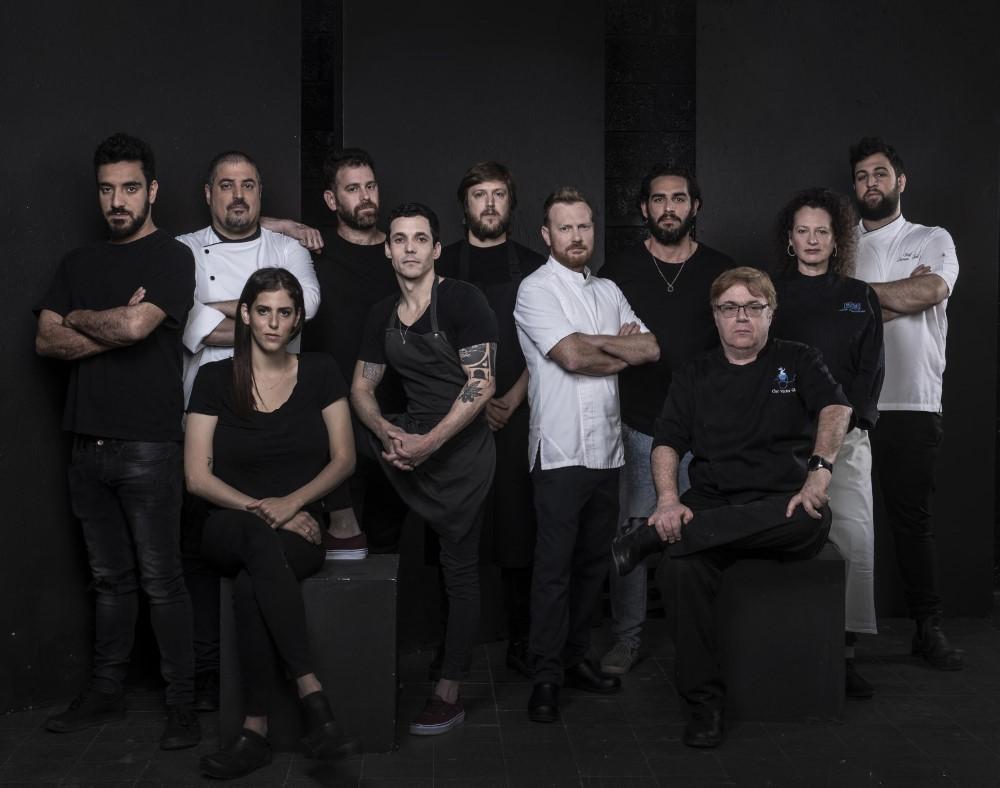 נבחרת השפים של בלאק מורנינג 2019. צילום: איליה מלינקוב
