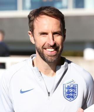 Image of Gareth Southgate smiling