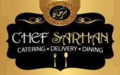 لوجو الشركة العالمية المصرية لإدارة المطاعم الحديثة (الشيف سرحان)