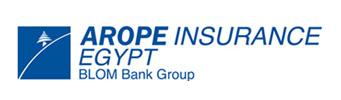 لوجو شركة اروب للتامين مجموعة بنك بلوم مصر