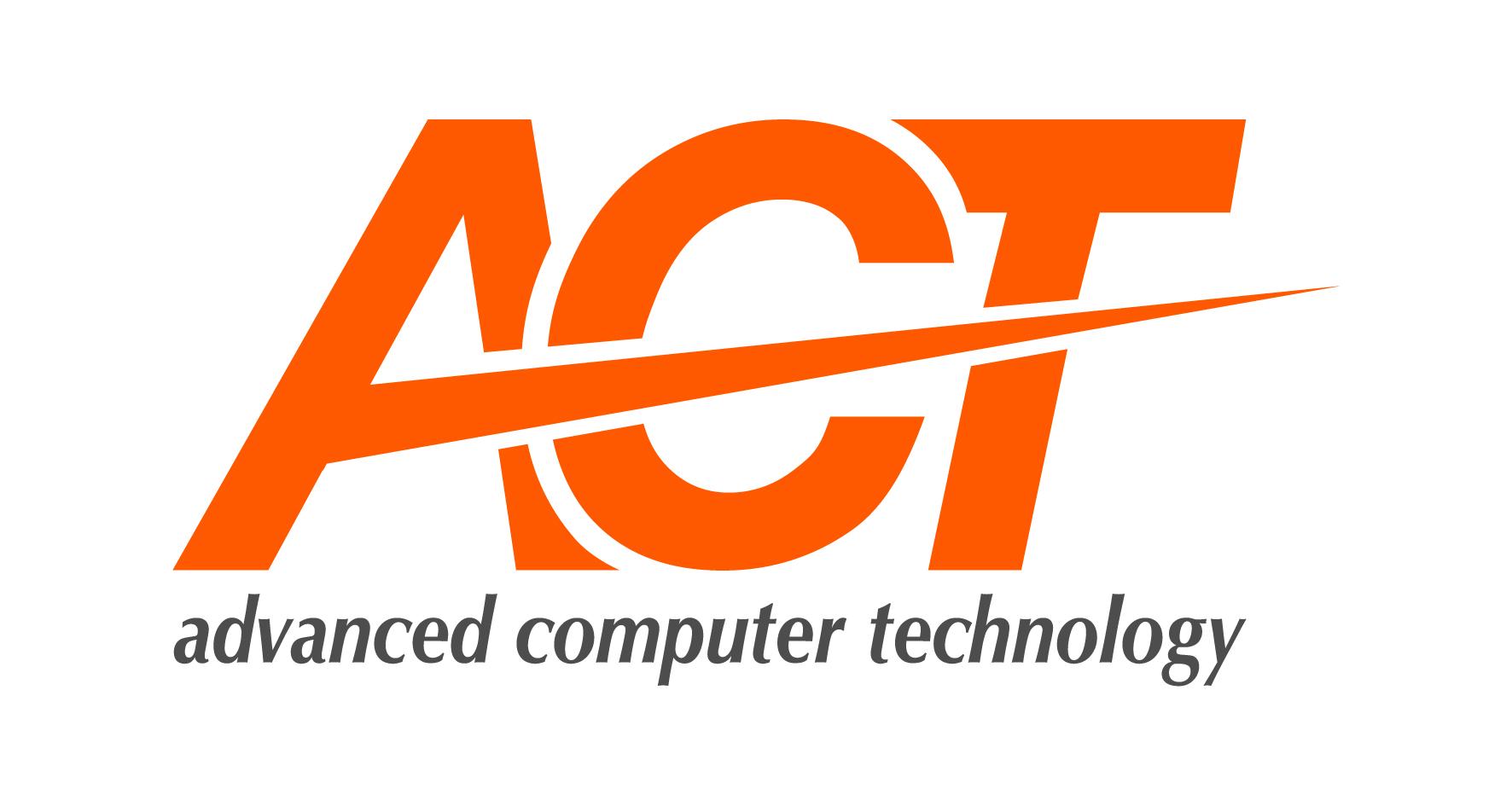 لوجو اكت ادفانسد كمبيوتر