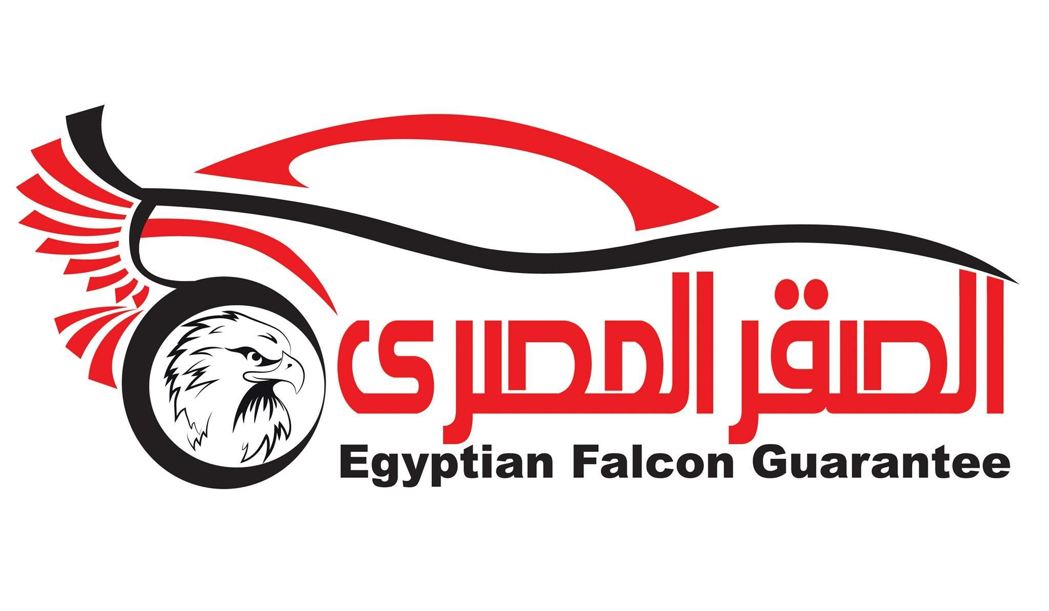 لوجو شركة الصقر المصري
