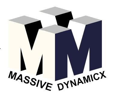 لوجو Massive DynamicX
