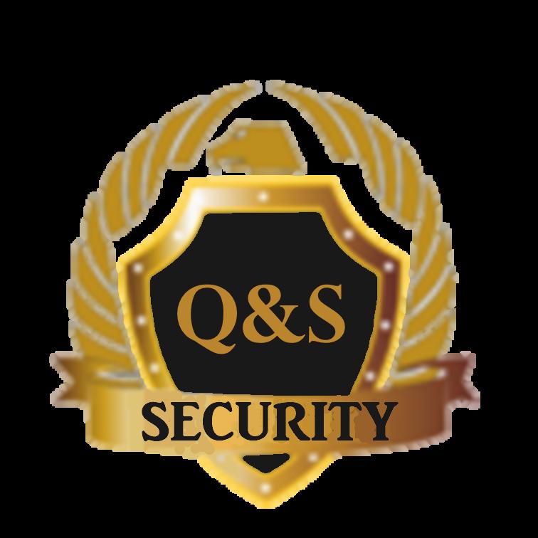 لوجو كيو اند إس للخدمات الامن والحراسة