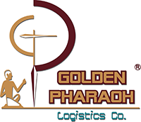 لوجو الفرعون الذهبى للوجيستيات