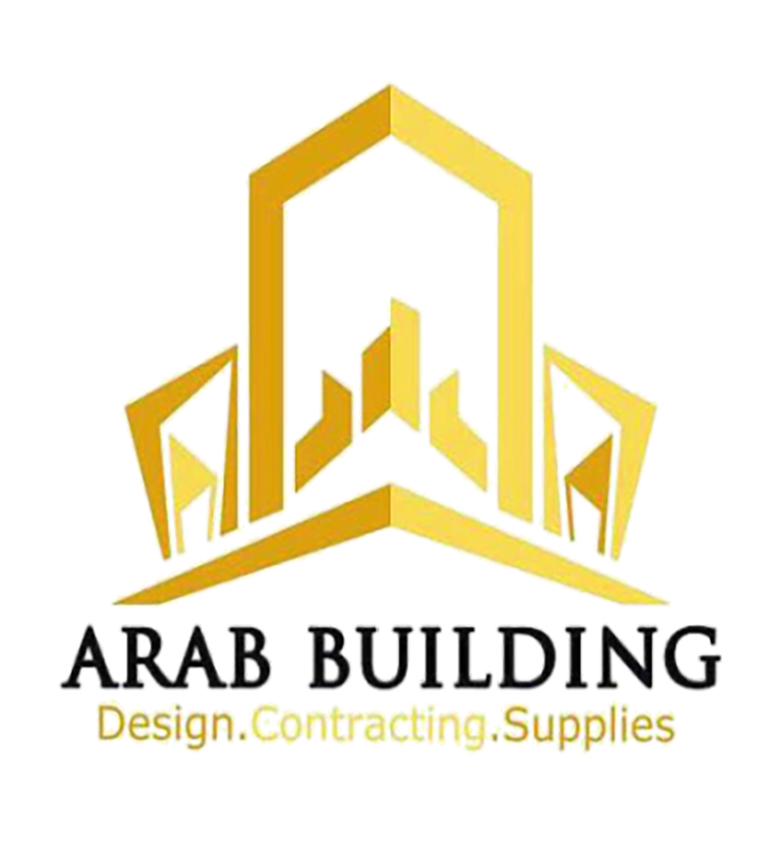 لوجو عرب بيلدنج للمقاولات