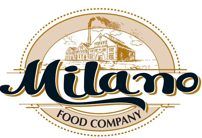 لوجو ميلانو للصناعات الغذائيه