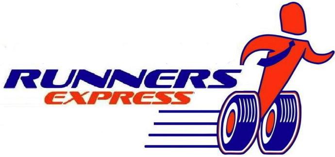 لوجو رانرز اكسبريس للخدمات البريدية