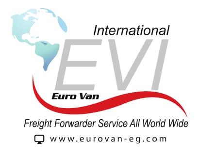 لوجو يوروفان انترناشونال للتصدير والشحن الدولي
