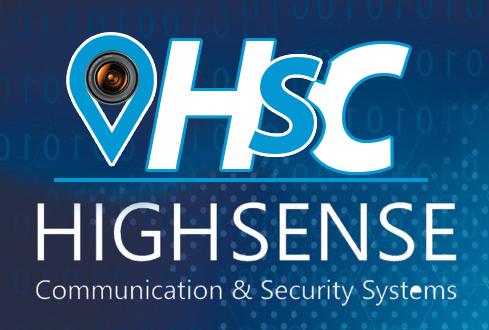 لوجو هاي سينس للأنظمة الامنية وكاميرات المراقبة