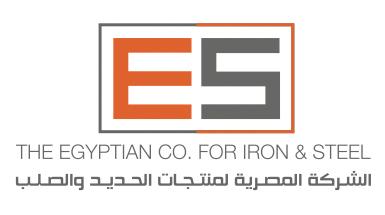 لوجو المصرية لمنتجات الحديد والصلب