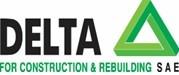 لوجو شركة دلتا للانشاء و التعمير