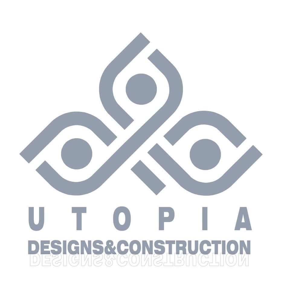 لوجو يوتوبيا للتصميم والبناء