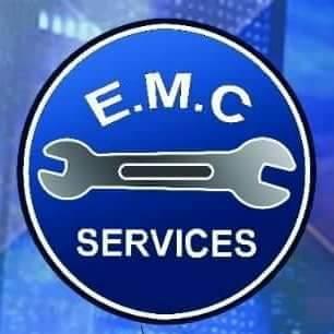 لوجو الشركة المصرية لصيانة السيارات