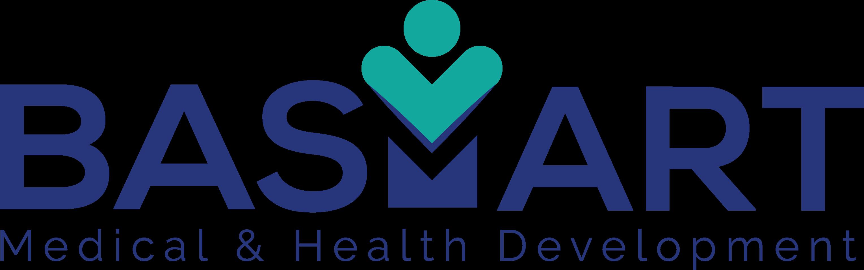 لوجو باسمارت هيلث لتطوير المؤسسات الطبية وخدمات التنمية الصحية المتكاملة ( د. باسم عادل )