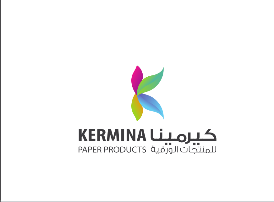 لوجو شركة كيرمينا للمنتجات الورقية