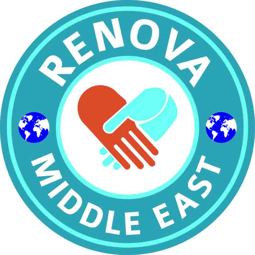 لوجو شركة رينوفا ميدل إيست لتقنية المعلومات والبرمجيات والتسويق الالكتروني