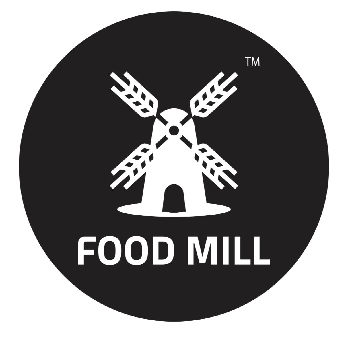لوجو فودميل لتجارة وتوزيع المواد الغذائية