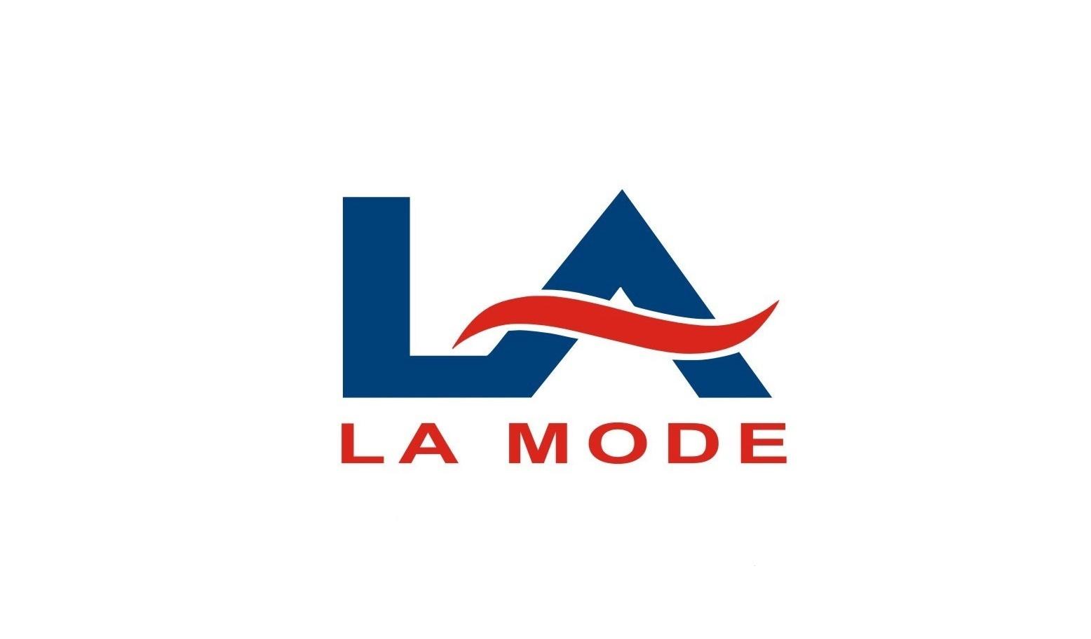 لوجو شركة لامود لألستيراد مستلزمات الملابس