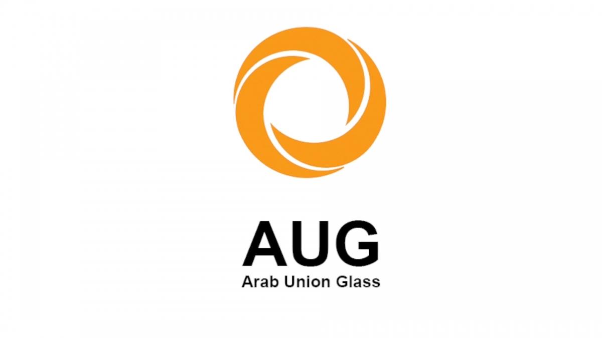لوجو الاتحاد العربي للزجاج