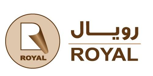 لوجو شركة رويال للصناعات الورقية