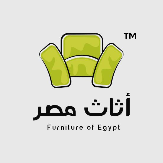 لوجو اثاث مصر لتوريد و تجارة الاثاث المنزلي