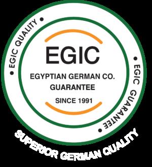 لوجو ايجيك المصريه الالمانيه للصناعات الانشائيه