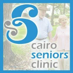 لوجو مركز القاهرة لطب المسنين