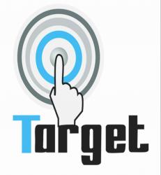 لوجو شركة تارجت للدعاية والاعلان