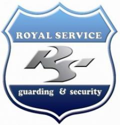 لوجو شركة رويال سرفيس لخدمات الامن والحراسة
