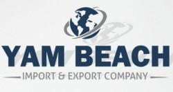 لوجو شاطئ اليم للاستيراد والتصدير